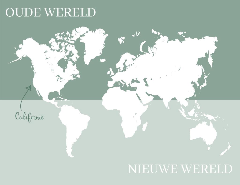 oude en nieuwe wereld