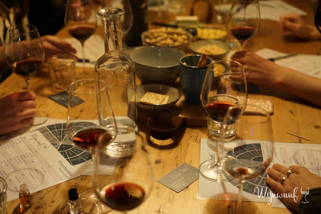 Wijnproeverij thuis Zeeland