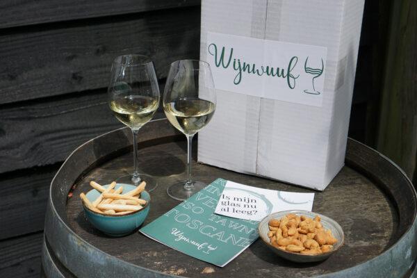 wijnpakket twee wit fris